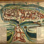 [:uk]Французька карта Старого міста та фортеці 1691 року[:]