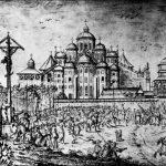 [:uk]Софійський собор на рисунку Абрахама ван Вестерфельда (1651).[:]