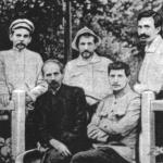 [:uk]М. Леонтович із К. Стеценком (крайні зліва)[:]